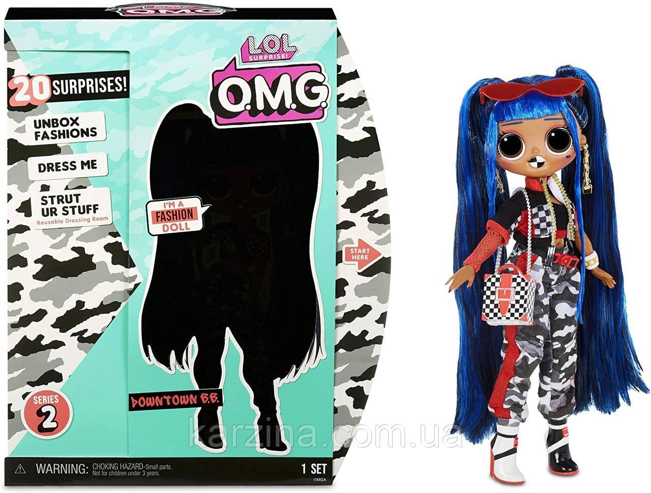 L. O. L. Surprise O. M. G. Даунтаун Бібі Оригінал MGA Downtown B. B. Fashion Doll