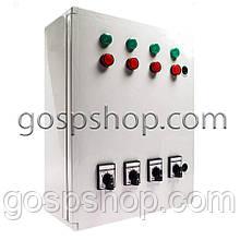 Контрольна панель для лінії годування (4 лінії)