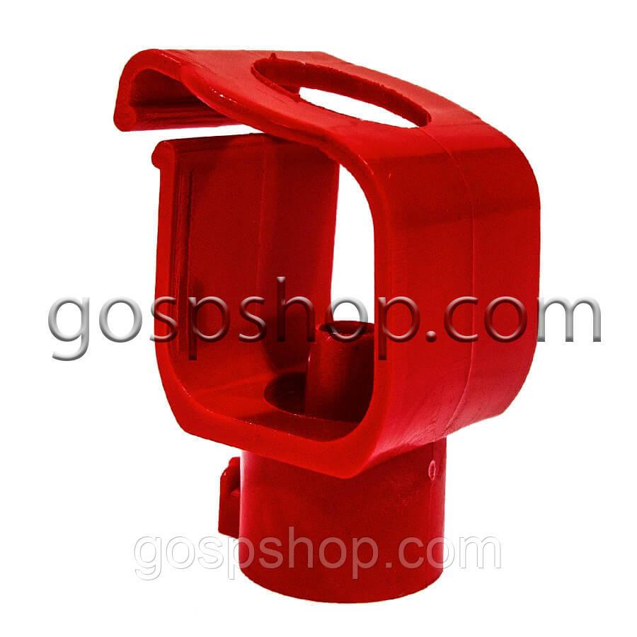 Крепление для ниппельной поилки (защелка) на квад. трубу TR