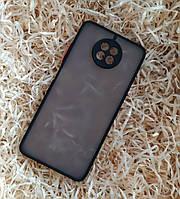 Чехол Goospery Case для Xiaomi Redmi Note 9T, Matte Black