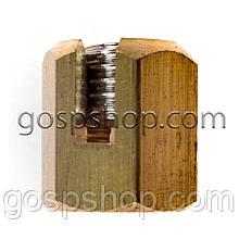 Затискач латунний для троса 4 мм