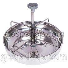 Годівниця (миска) для поросят з нержавійки на 2 л