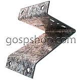 Кронштейн (пластина) для кріплення лебідки на стіну полегшений, фото 2