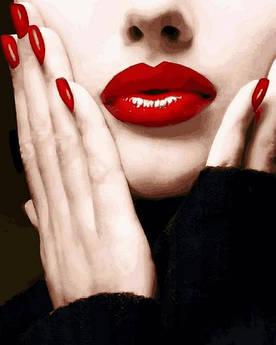 Картина по номерам Mariposa Красный - любимый цвет (MR-Q2263) 40 х 50 см