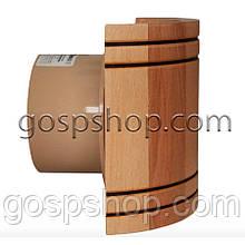 Жаростойкий вентилятор с полукруглой панелью  для саун, бань