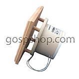 Жаростійкий вентилятор з квадратної панеллю і зворотним клапаном для саун, лазень, фото 2