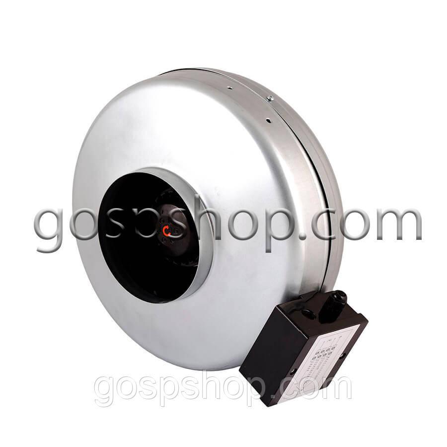 Вентилятор канальний круглий 350 м3/годину