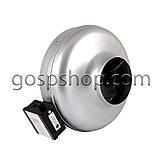 Вентилятор канальний круглий 350 м3/годину, фото 2