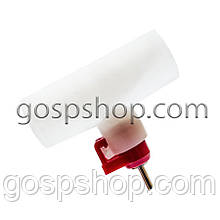 Ниппельная поїлка + штуцер для круг. труби 25 мм (засувка)