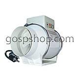 Вентилятор канальный круглый (Ø подключаемого канала 198 мм), фото 3