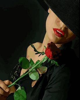 Картина по номерам Mariposa Мечтая о прекрасном (MR-Q2264) 40 х 50 см