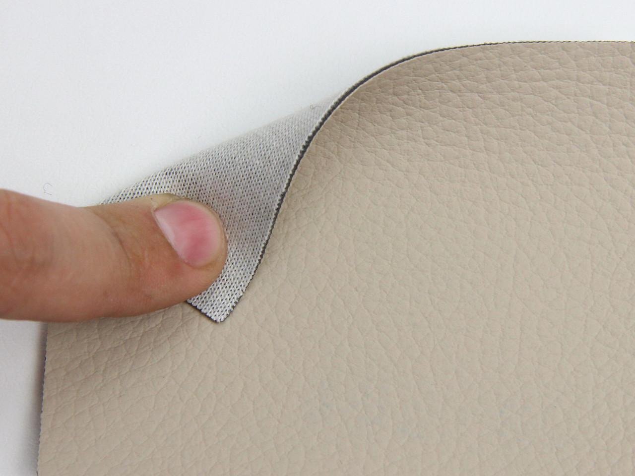 Автомобільна екокожа (світло-бежевий 09-304) для сидінь на підкладці, ширина 1.60 м