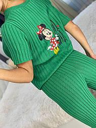 Комплект с Микки: футболка и штаны, 42-48