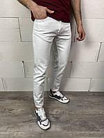 Мужские джинсы белые