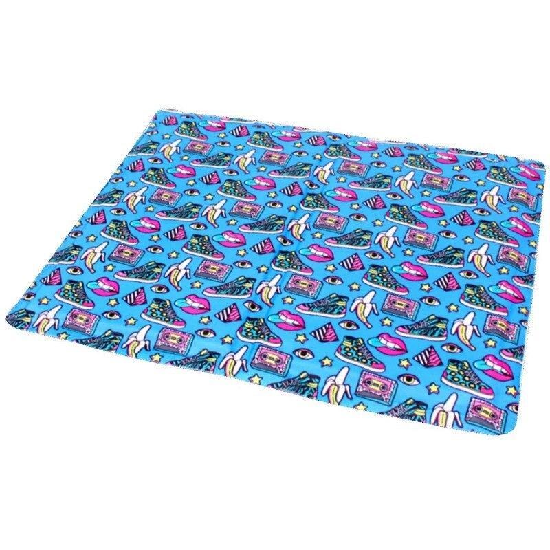 Охлаждающий коврик для собак с принтом Фреш Поп - Croci (Кроки) Fresh Pop 90х50 см