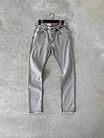 Мужские джинсы серые