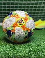 Футбольный мяч для игры в футбол спортивный игровой  Adidas CONEXT, фото 1