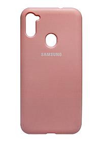 Силикон SA A115/M115 pink Silicone Case