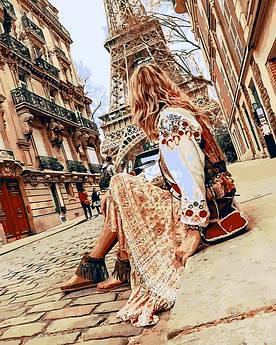 Картина по номерам Mariposa Пешие прогулки по Парижу (MR-Q2273) 40 х 50 см