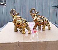 Статуетки фен шуй Слони грошові 2 шт., фото 1