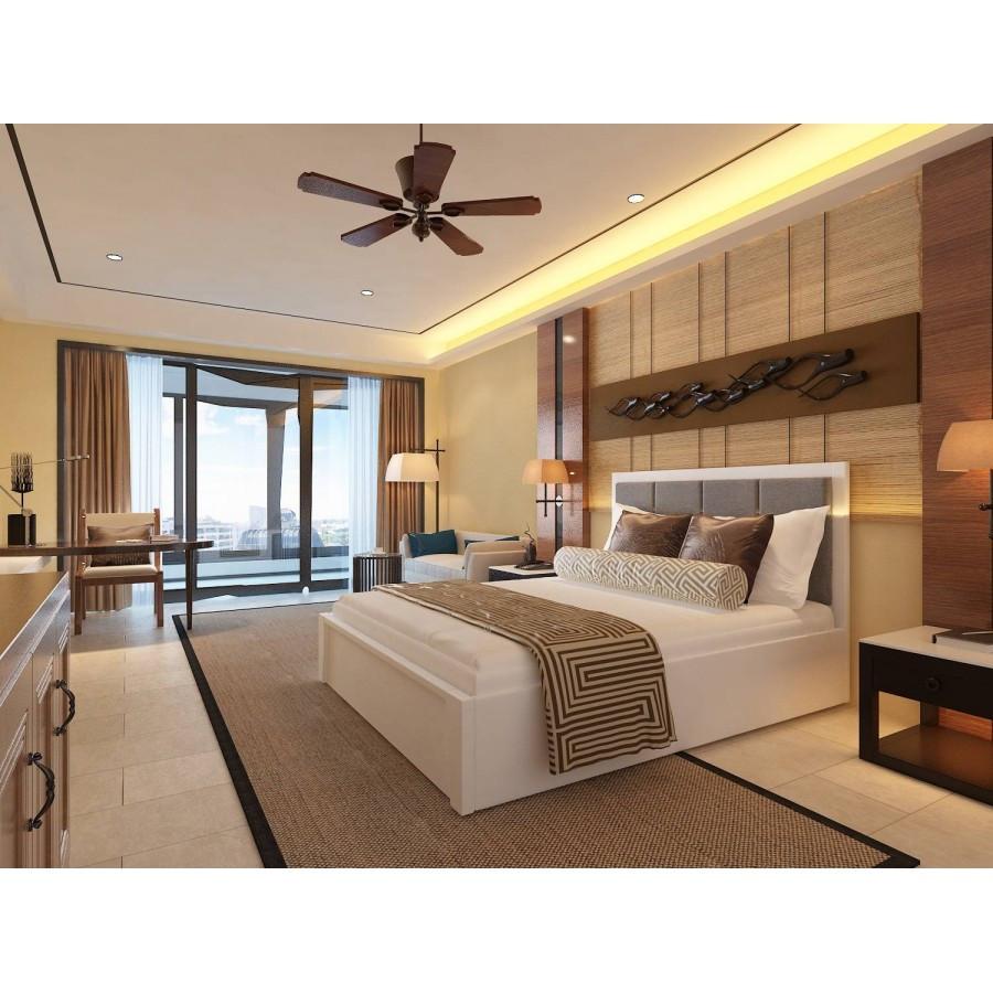 Ліжко деревяннаяс підйомним механізмом і м'яким узголів'ям Верона , ArtWood колір білий
