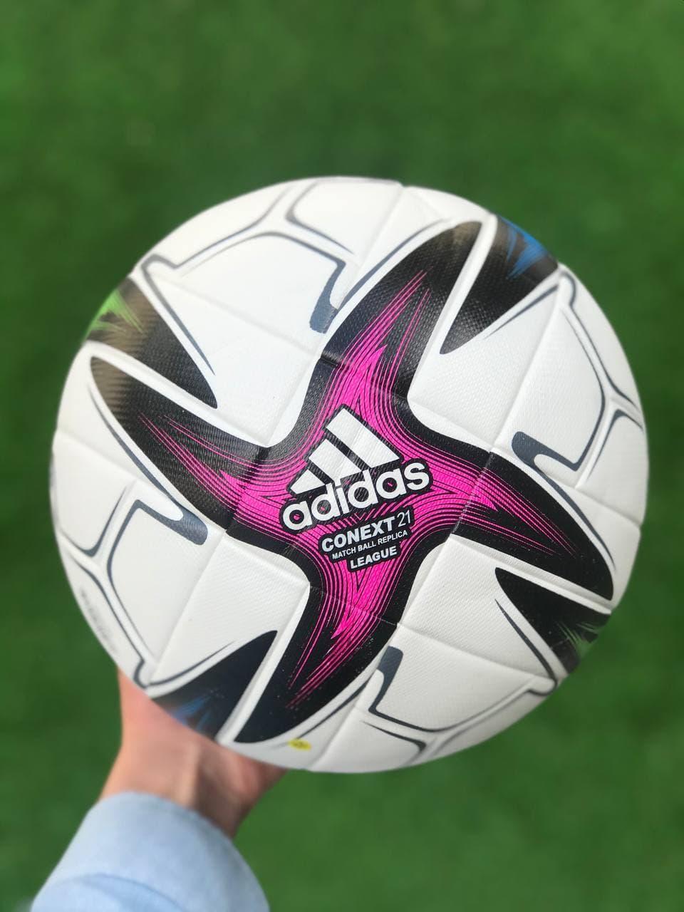 Футбольний м'яч для гри у футбол спортивний ігровий Adidas CONEXT