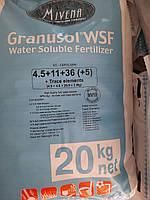 Мивена  Mivena Granusol WSF 4,5-11-36-5MgO-TE (20кг.)