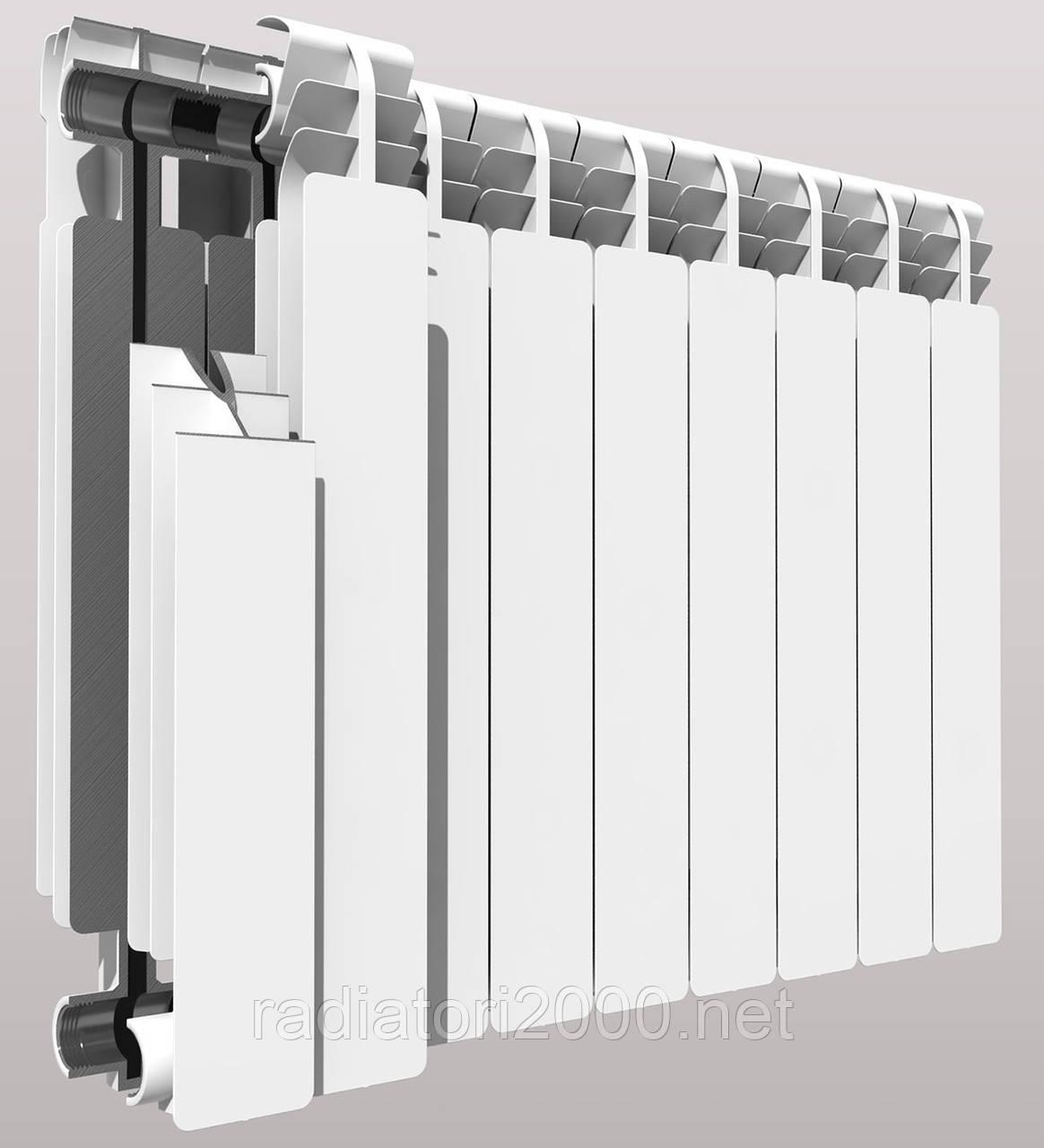 Биметаллический радиатор отопления DIVA 80х500