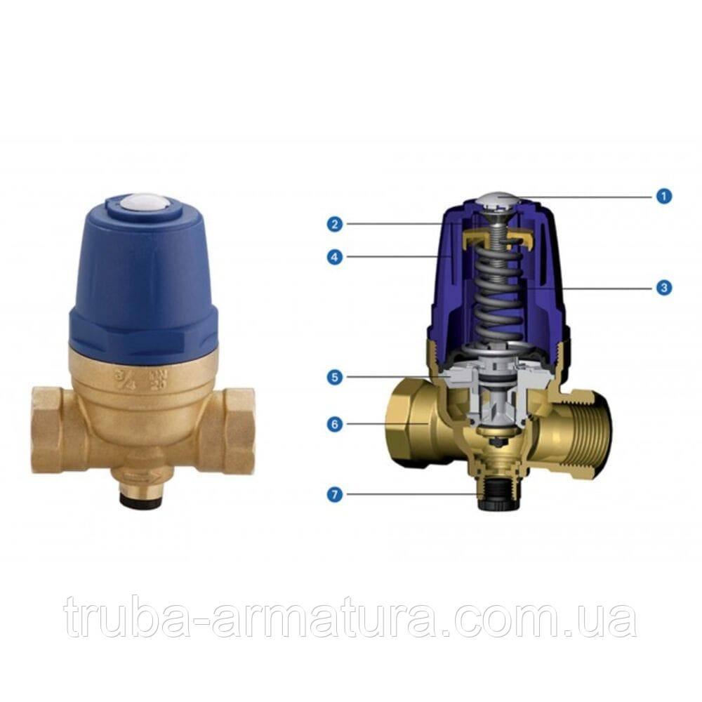 Редуктор давления воды FIV с внутренней резьбой DN 15