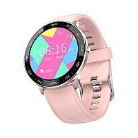 Розумні годинник Lemfo ZL03 з тонометром (Рожевий), фото 1