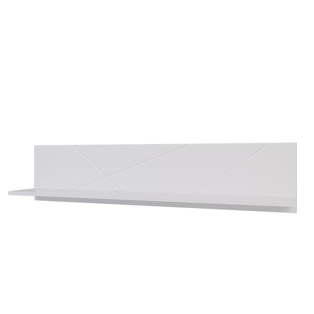 Полка универсльная Х-Скаут Х-14 белый мат/белый