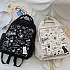 Молодежная сумка-рюкзак Граффити, фото 2