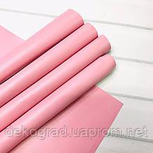 Эко кожа Розовый 28х55см