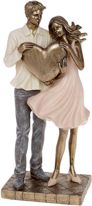 """Декоративна статуетка """"Amore"""" 11.5х8х25.5см, полістоун"""