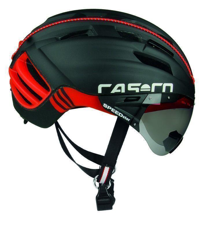 Велошлем Casco SPEEDster-TC Plus black- red