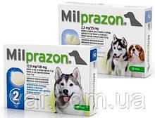 Таблетки от глистов для щенков и собак Милпразон (Milprazon) весом 0.5-5 кг