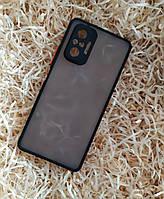 Чехол Goospery Case для Xiaomi Redmi Note 10 Pro, Matte Black