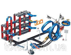 Гоночний Трек 2в1, 80-90-36 см, машинки 4 штуки від 5 см 8899-83