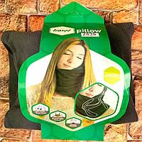 Подушка-шарф Travel Pillow для путешествий Дорожная подушка для сна в сидячем положении ФОТО