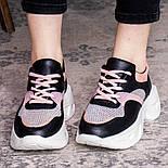 Кроссовки женские Fashion Qihai 2654 36 размер 23,5 см Черный, фото 2
