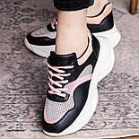Кроссовки женские Fashion Qihai 2654 36 размер 23,5 см Черный, фото 4