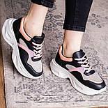 Кроссовки женские Fashion Qihai 2654 36 размер 23,5 см Черный, фото 8
