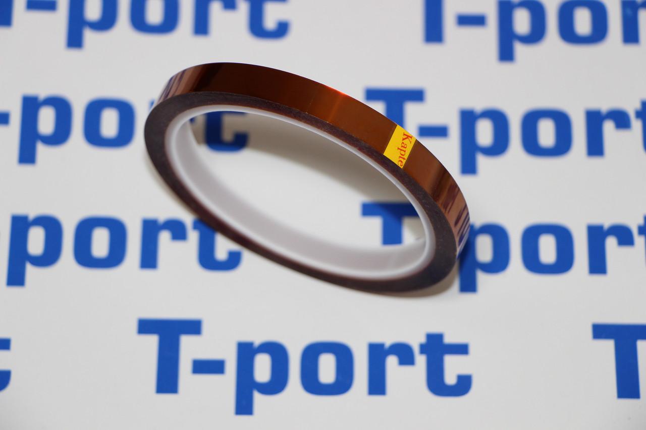 Термостійкий каптоновий (поліамідний) скотч Kapton 12mm×33m×0,06 mm
