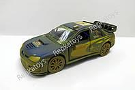 Kinsmart Subaru Impreza WRC 2007 грязь (ОПТОМ) KT 5328 WY
