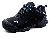Зимние кроссовки Adidas Climaproof, черные, нубук, фото 1
