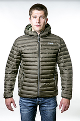Куртка утепленная urban Tramp. Осенняя куртка оливковая размер S