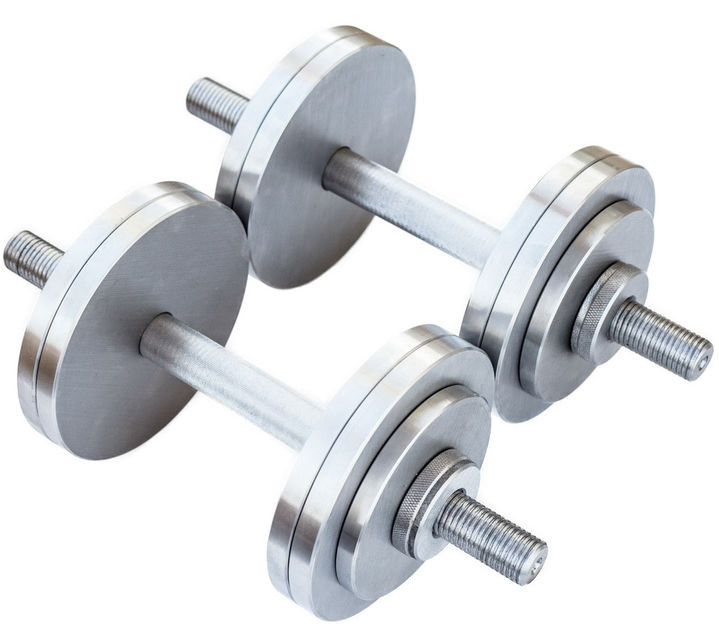 Гантели 2 по 12 кг разборные металл (металеві гантелі розбірні наборні наборные для дома металлические)