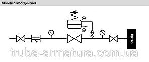 """Регулятор тиску """"після себе"""" ZETKAMA (Польща) DN 80 PN 1,6 МПа, фото 2"""