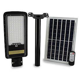 Вуличний ліхтар на стовп solar street JD 296 VPP 200W Remote (пульт)