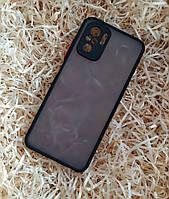 Чехол Goospery Case для Xiaomi Redmi Note 10, Matte Black